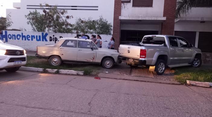 Conductor sufrió un infarto, chocó y murió en el hospital