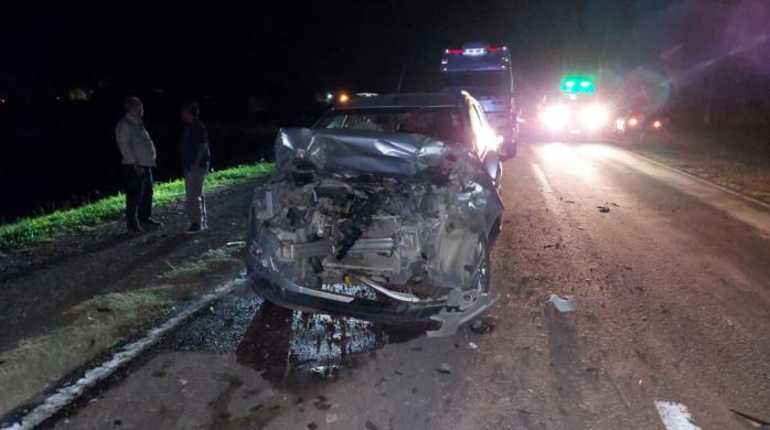 Accidente en Ruta 16: sólo una persona continúa internada