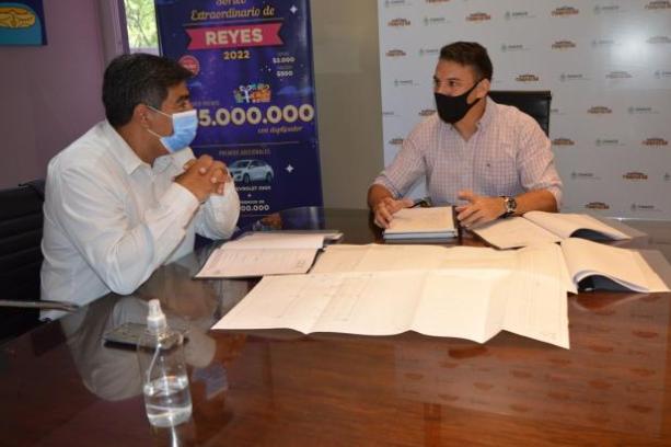 Puerto Vilelas proyecta la construcción de tres playones deportivos