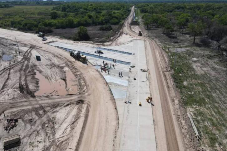 Avanza la construcción del acceso al puerto Las Palmas