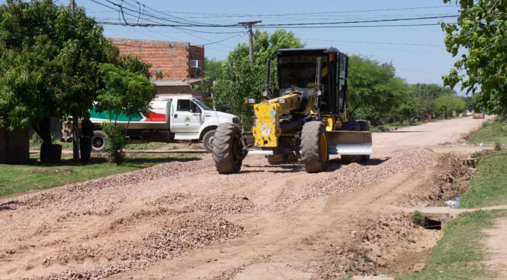 El Municipio avanza con las obras en el barrio Obrero de Sáenz Peña