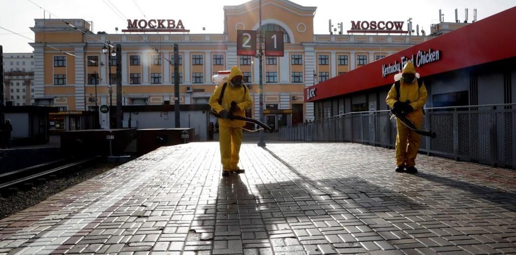 Arrancan 11 días de confinamiento en Moscú